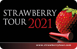 Strawberry Tour Card